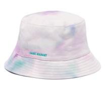 Hayleyh Logo-embroidered Tie-dye Bucket Hat