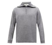Lak High-neck Merino-wool Jersey Sweater