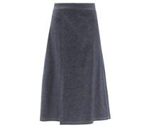 Pareo Denim Wrap Skirt