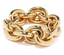 Chunky 18kt Gold-plated Sterling-silver Bracelet