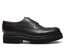 Joel Grained-leather Derby Shoes
