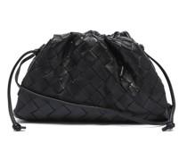 The Pouch Mini Intrecciato-leather Clutch Bag