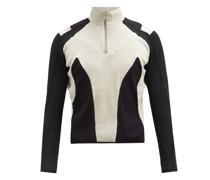 Atris Recycled-cotton Half-zip Sweatshirt