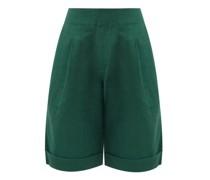 Enchanta Long Linen Cotton Shorts