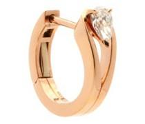 Serti Inversé Diamond & 18kt Gold Single Earring