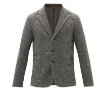 Torceo Single-breasted Wool-blend Jacket