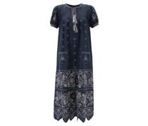 Rushka Embroidered Linen Dress