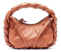 Espiga Mini Braided Leather Bag
