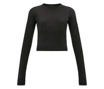 Release 05 Hem-panel Long-sleeved Jersey T-shirt