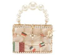 Holli Monda Crystal-embellished Cage Bag