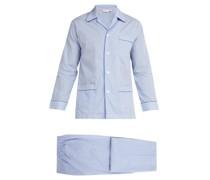 James Striped Cotton Pyjamas