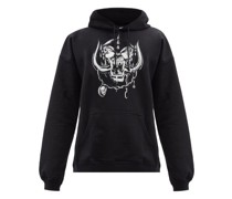 X Motörhead Cotton-blend Hooded Sweatshirt