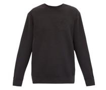 Swarovski-embellished Cotton-jersey Sweatshirt