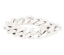 Curb-chain Sterling-silver Bracelet