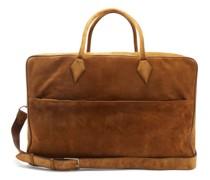 Closer Large Suede Weekend Bag