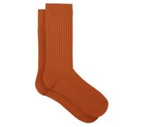 Danvers Rib-knit Socks