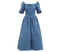 Minnie Denim Midi Dress