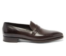 Upton Monk-strap Leather Loafers