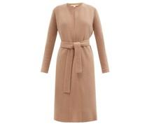 Tiberia Belted Wool-blend Cardigan