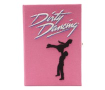 Dirty Dancing Appliqué Canvas Book Clutch