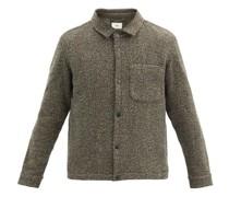 Orb Patch-pocket Wool Jacket