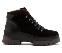 Crosta Suede And Leather Hiking Boots