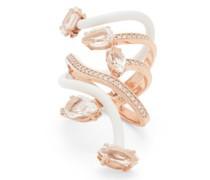 Vine Diamond, Topaz & 9kt Rose-gold Cocktail Ring
