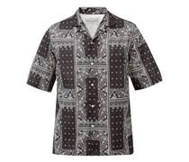 Eren Bandana-print Cotton-poplin Shirt