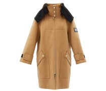 Lisburn Wool-blend Hooded Duffle Coat