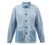 Patch-pocket Denim Jacket