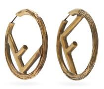 F-logo Large Hoop Earrings