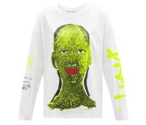 Brat Girl Organic-cotton Long-sleeved T-shirt