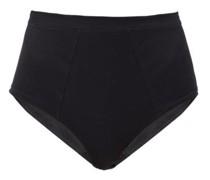 High-waist Cotton-jersey Briefs