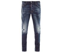 Cool Guy Distressed Slim-leg Jeans