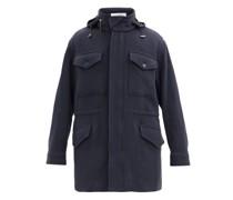 Duckworth Detachable-vest Cashmere Hooded Jacket