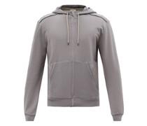 Zipped Modal-blend Jersey Pyjama Sweater