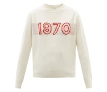 1970-intarsia Wool-blend Sweater