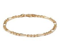Figaro-link 14kt Gold-vermeil Bracelet