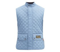 Quilted Recycled-fibre Gilet