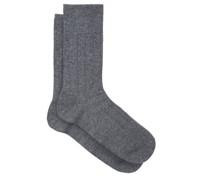 Lhasa Ribbed Socks
