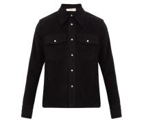Matsy Cotton-flannel Overshirt