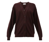 Double-front Merino-wool And Dralon Cardigan