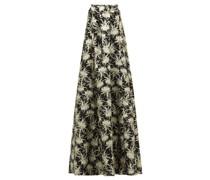 Piastra Radsmir Vanilla Flower-brocade Gown
