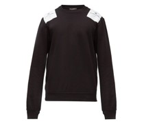 Logo-patch Cotton-jersey Sweatshirt
