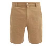 Twisted-seam Cotton-blend Shorts