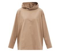 Luca Cotton-jersey Hooded T-shirt