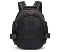 Ch2 Logo-print Shell Backpack