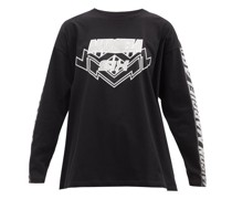 Logo-print Cotton-jersey Long-sleeved T-shirt