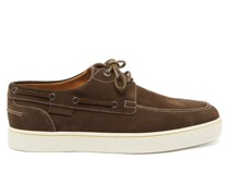Pier Suede Boat Shoes