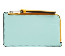 Anagram Zipped Leather Cardholder